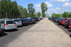 Parking przy lotnisku Modlin