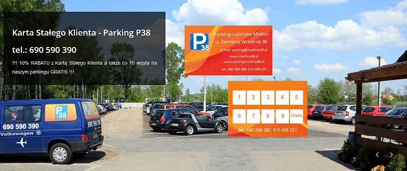 Parking Lotnisko Modlin