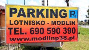 Baner naszego parkingu